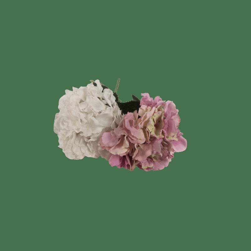 Hortensia géant H.60 blanc - grossiste fleurs artificielles