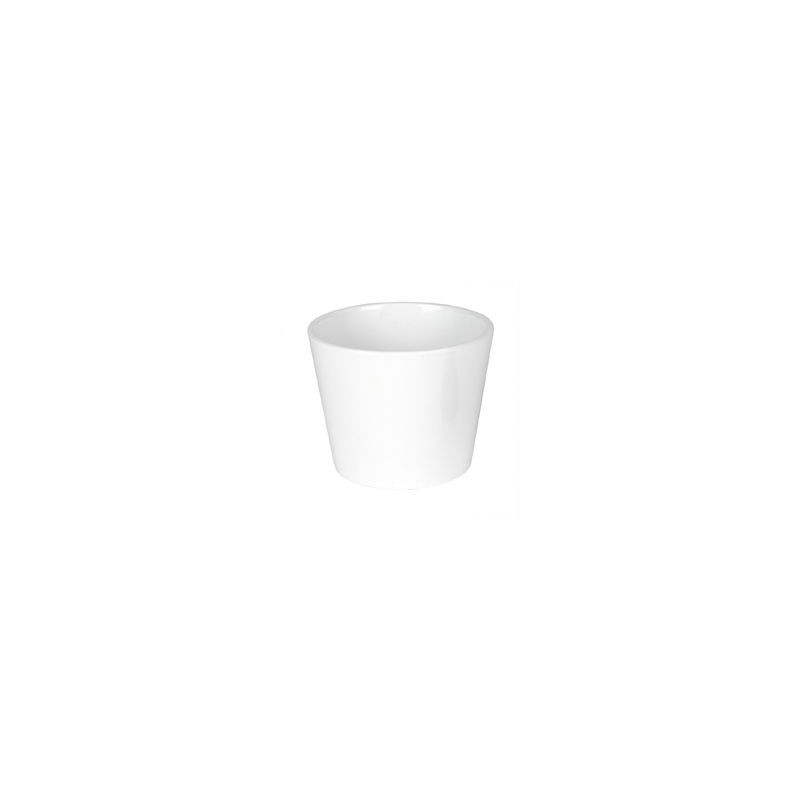 Pot céramique Dallas blanc - Fourniture fleuriste