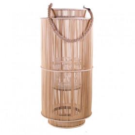 Lanterne carrée en bambou...