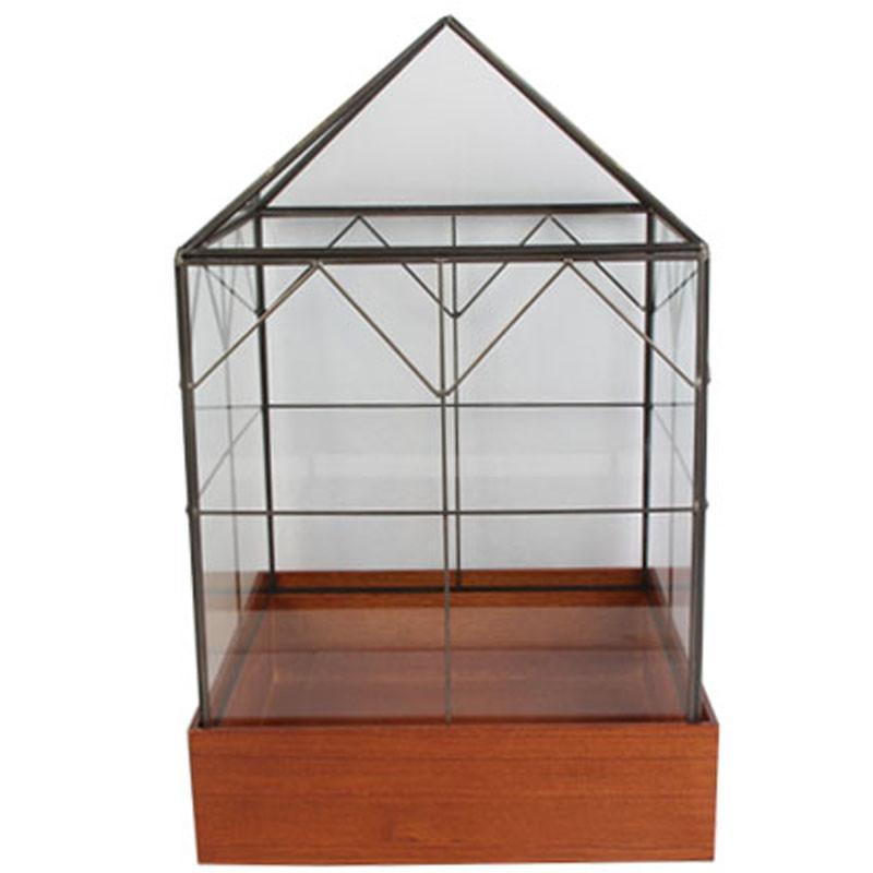 Verrière carrée - Grossiste fleuriste composer verrerie décoration