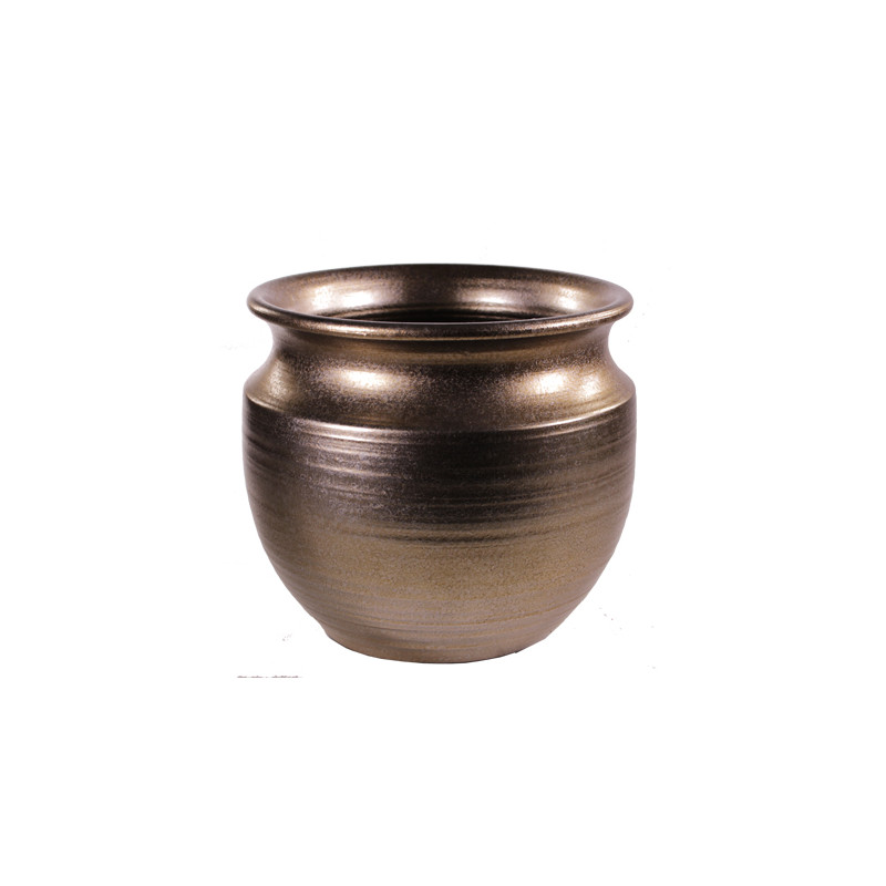 Cache pot 2 tailles - Grossiste fleuriste contenant céramique Renaud