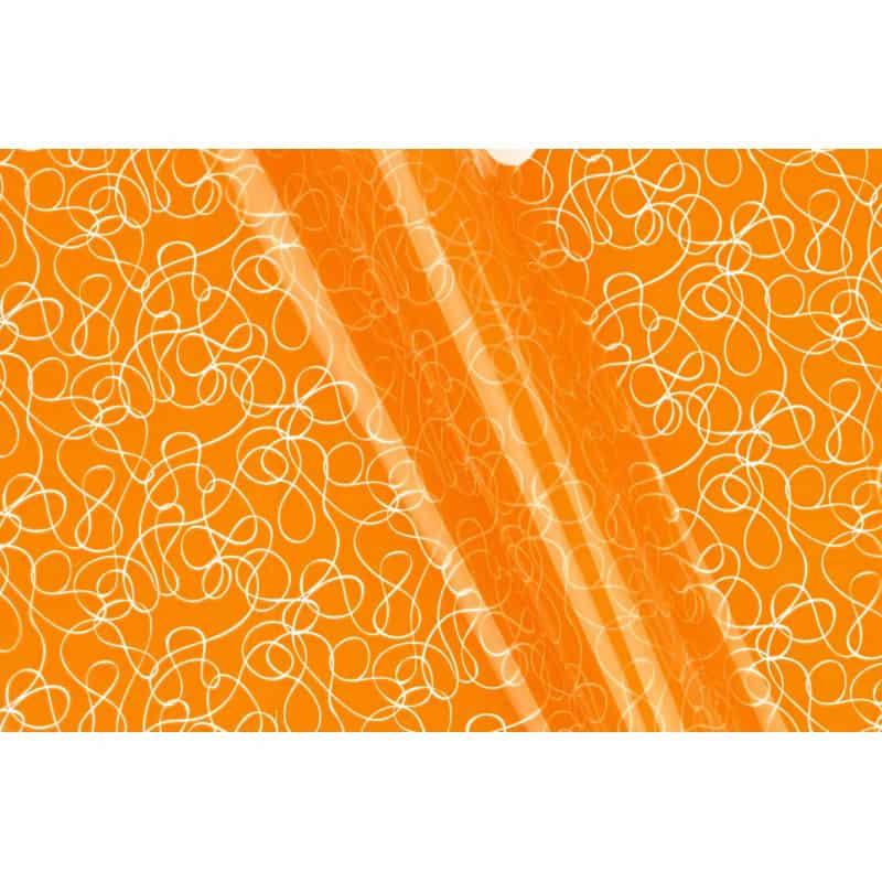 Papier fantaisie boucle Mira - 0.80m x 40m - grossiste fleuriste