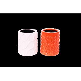 Duo de pot cylindre Helot - grossiste céramique