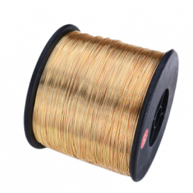 Bobine fil métal or 35 mm -...