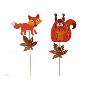 Pic automne renard/écureuil...