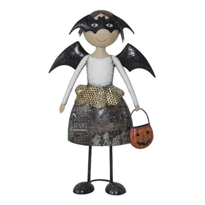 Fille halloween en chauve souris - Grossiste décoration personnage