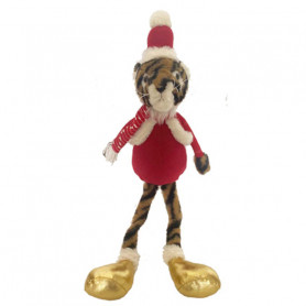 Tigre Noël pattes molles Valou