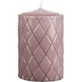 Bougie cylindre 7,5x15cm - Roselyne