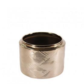 Pot avec motif losanges...
