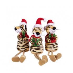 Tigres de Noël avec pattes...