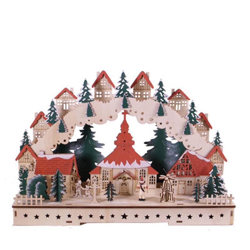 Décor Noël avec LED - Grossiste fleuriste décoration vitrine Renaud