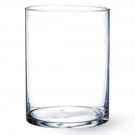 Vase tube Méline - H. 15cm...