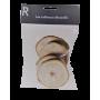 Tranche bois 7-10 cm - Sachet de 4 pièces