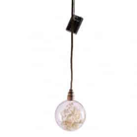 Boule LED avec branchage...