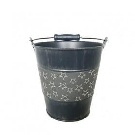 Pot rond avec frise étoiles...
