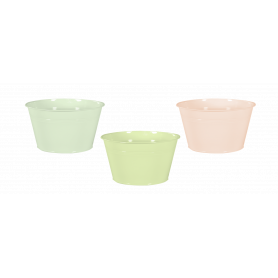 Coupes zinc nuance pastel -...