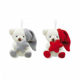 Duo d'ours à suspendre avec...