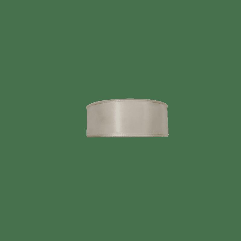 Ruban Taffenas crème 40mm x 50m - grossiste fleuriste
