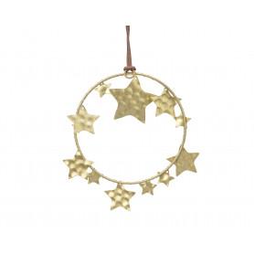 Suspension cercle et étoile Jackma - grossiste noel