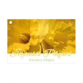 """Carte """"joyeuses Pâques"""" Giroud"""