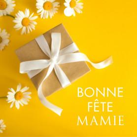 """Carte carrée """"Bonne fête..."""