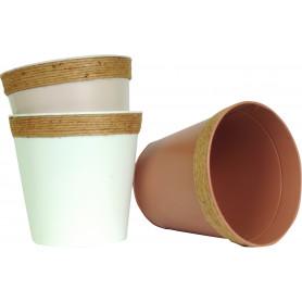 Pot rond corde - Plusieurs tailles - grossiste fleuriste