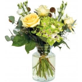 Vase Inès - D.14cm x H.19cm - grossiste verrerie