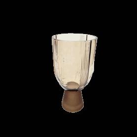 Vase visage sur pied - Grossiste fleuriste contenant décoration Renaud