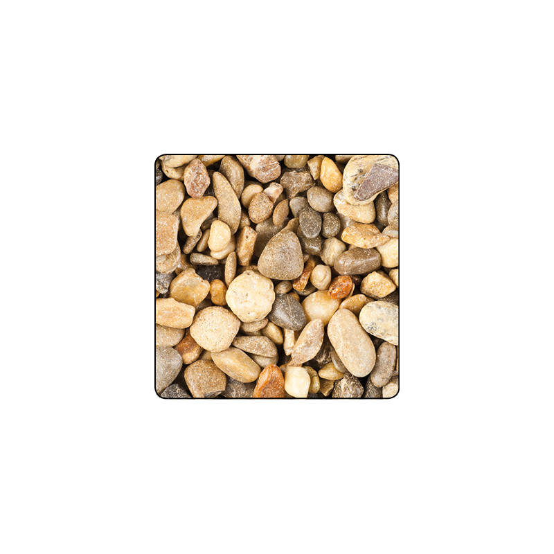 Sachet de pierre de fleuve - 8/16mm - 500g - grossiste fleuriste