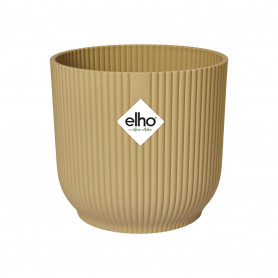 Pot rond Vibes Elho en plastique recyclé