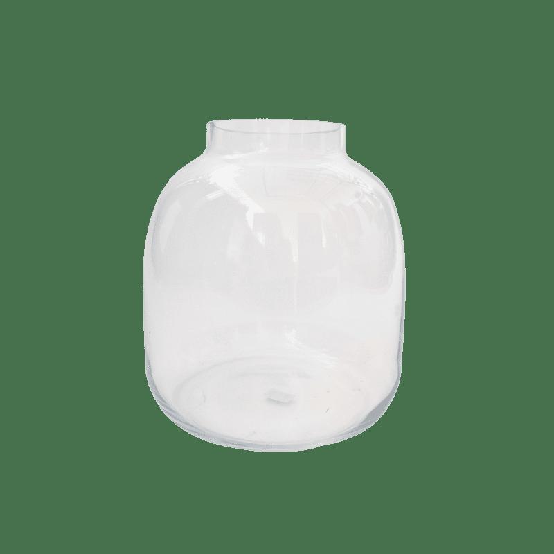 Vase Mensa - D. 26cm x H.29cm - grossiste fleuriste verrerie