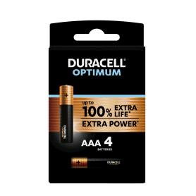 Piles Duracell x 4 LR03...