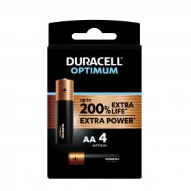Piles Duracell x 4 LR06...