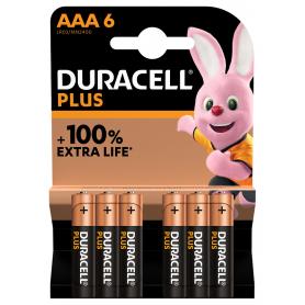 Piles Duracell+ x6 LR03...