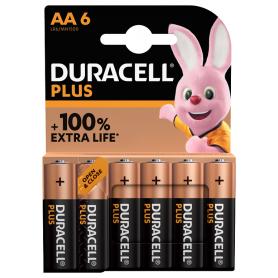 Piles Duracell+ x6 LR06...
