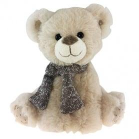 Peluche ours ecru Gusto - 35cm