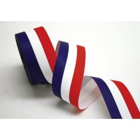 Ruban tricolore mat