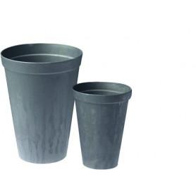 Vase plastique Gris