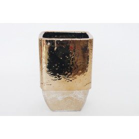 Vase carré céramique