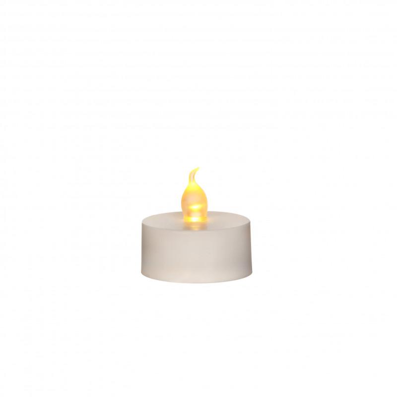 Bougie chauffe-plat LED