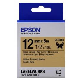 Ruban satin 12 mm x 5 m pour imprimante Epson LW-400