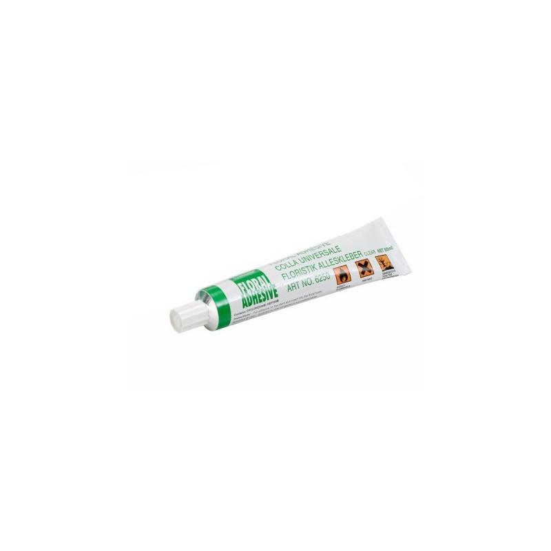 Colle en tube transparent