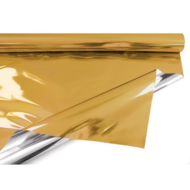Papier métal Uni 30µ multicoloris emballage décoratif