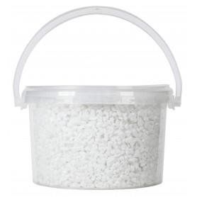 Sable glace blanc 4-6 mm seau 2,5 L